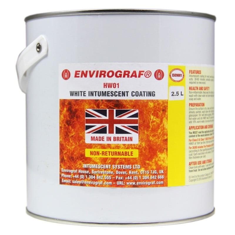Envirograf - HW01/F White Intumescent Coating