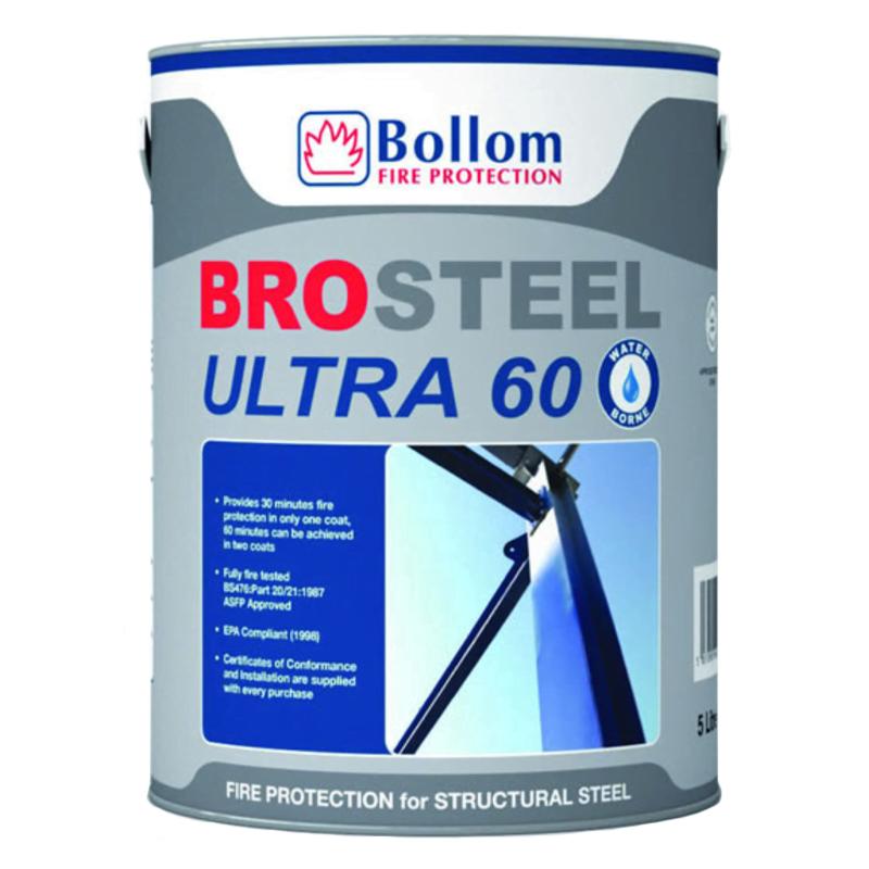 Brosteel Ultra 60 - Fire Proofing Paint