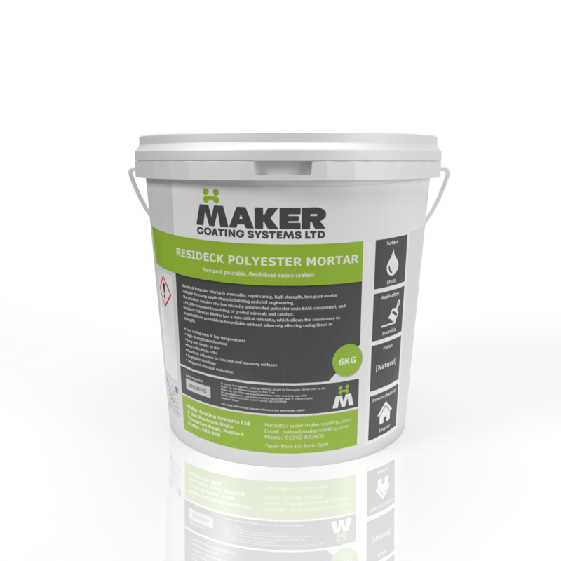 Resideck - Polyester Mortar