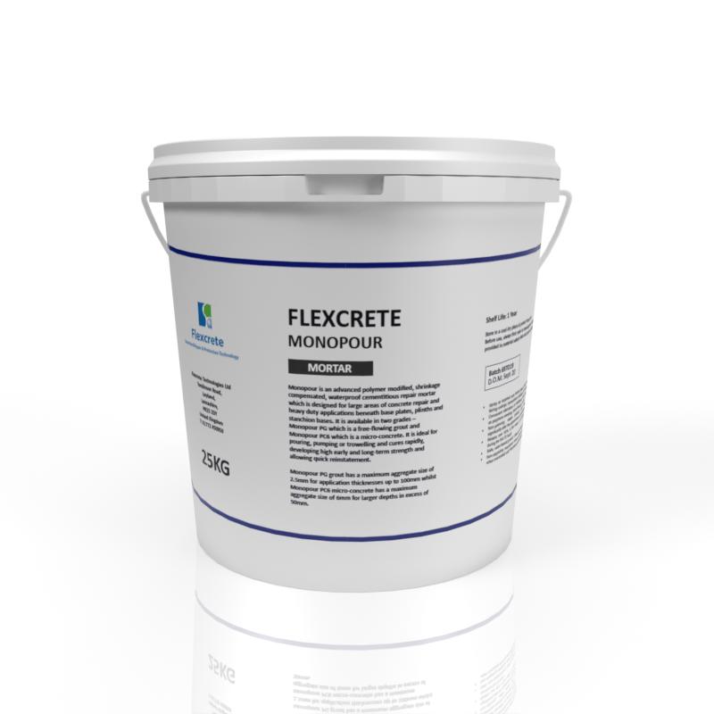 Flexcrete - Monopour