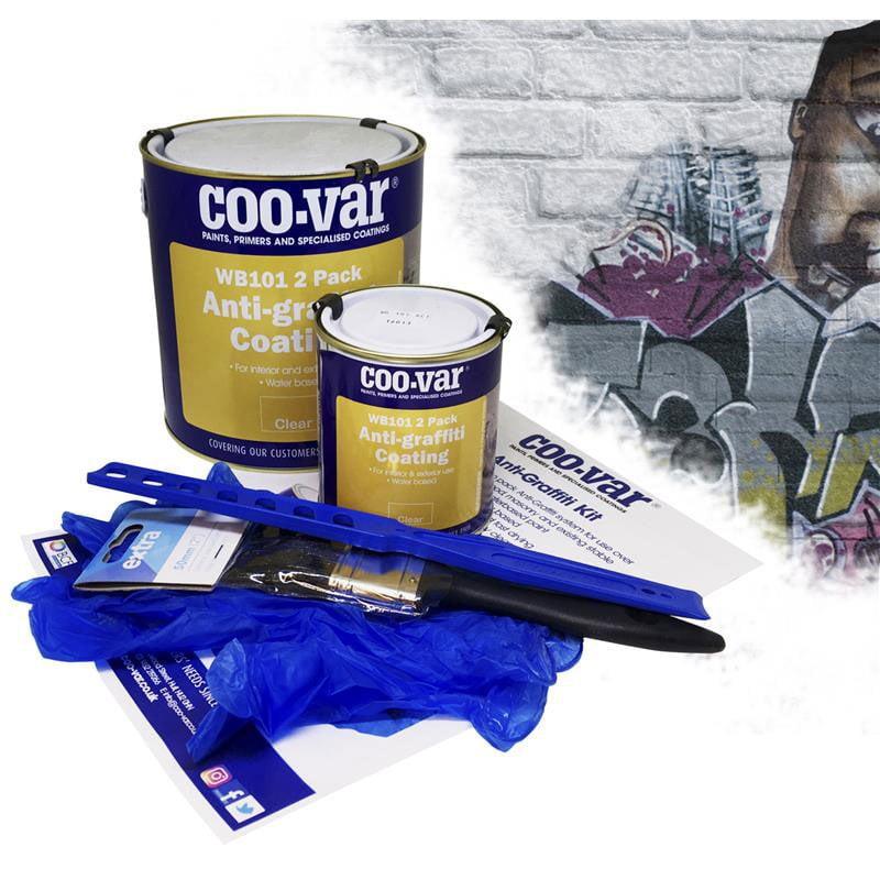 Coo-Var - Anti-Graffiti Lacquer Kit