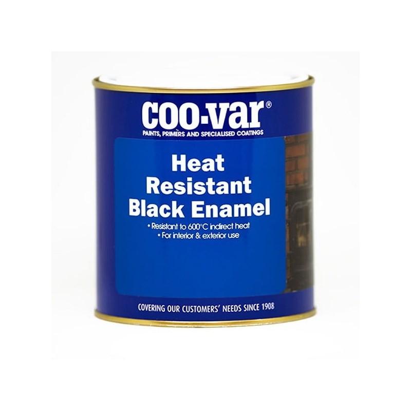 Coo-Var - Heat Resistant Black Enamel