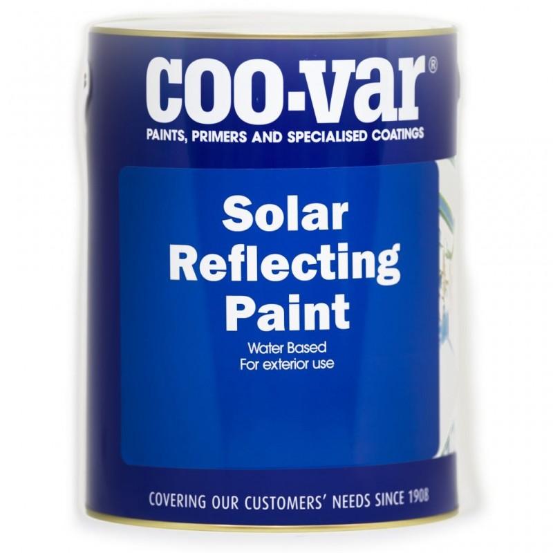 Coo-Var - White Solar Reflective Paint