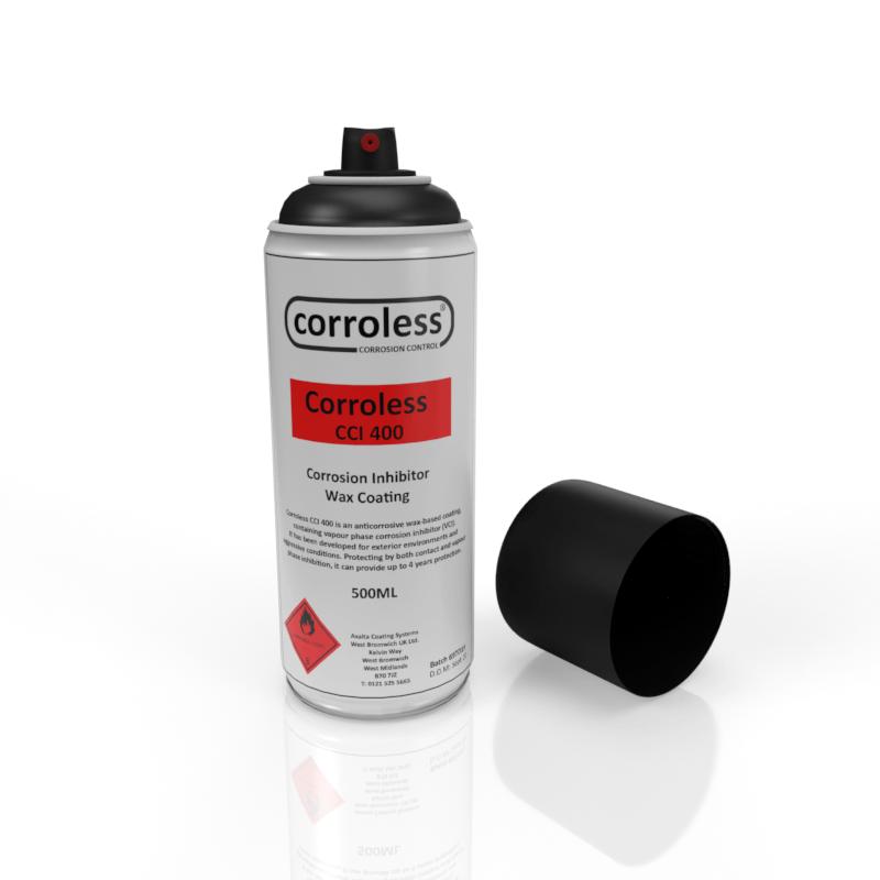 Corroless - CCI 400 - Anti Corrosive Wax-Based Coating