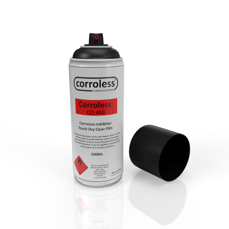 Corroless - CCI 450 - Anti Corrosion For Damp Surfaces