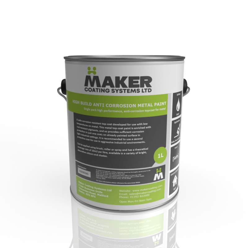 Maker Coating - High Build Anti Corrosion Metal Paint