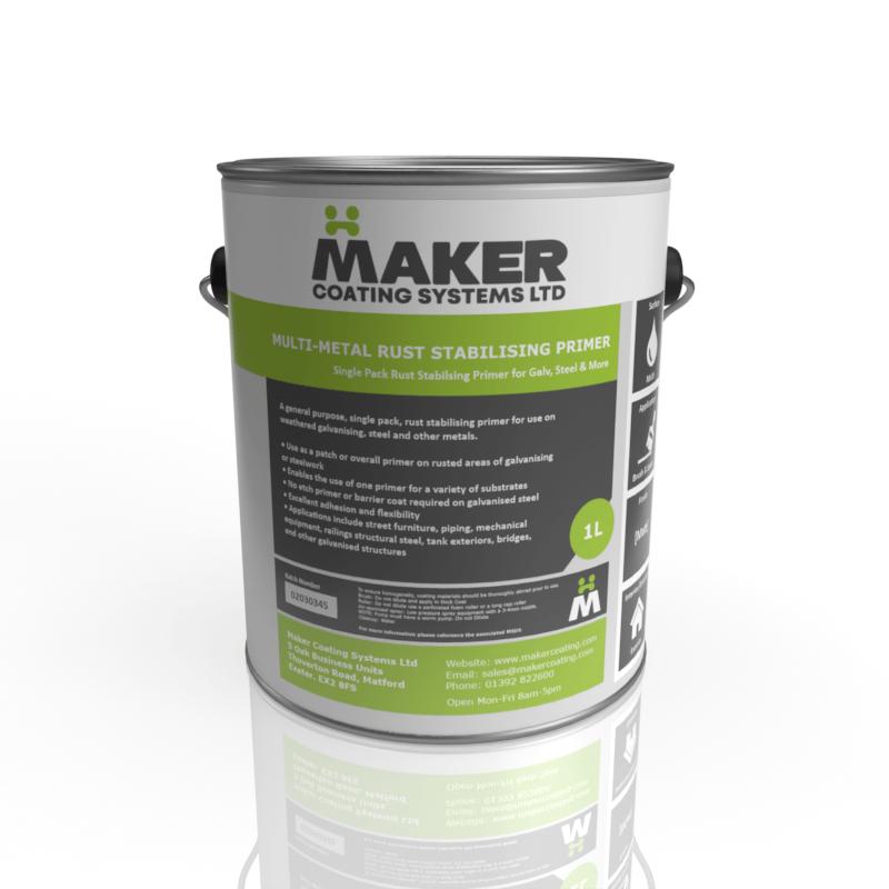 Maker Coating - Multi-Metal Rust Stabilising Primer