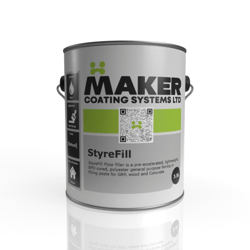 Maker Coating - Styrefill HZ