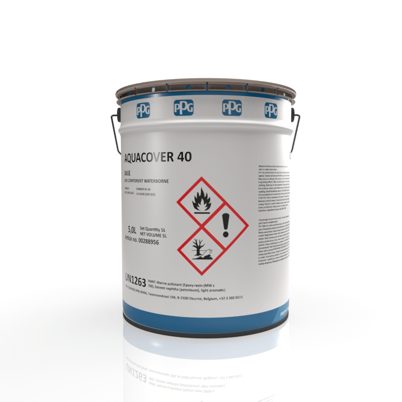 PPG - Sigma Aquacover 40 - Water Based Coating