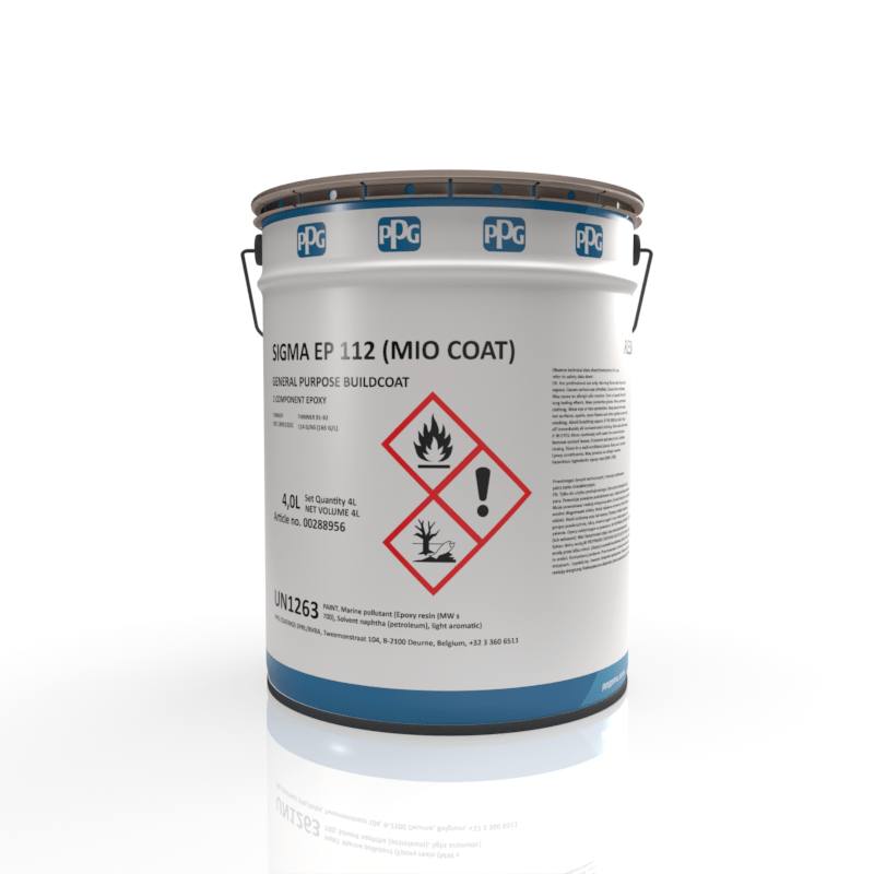 PPG - Sigma EP 112 Miocoat - Epoxy Coating