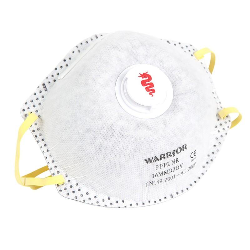 Warrior - Respirator FFP2V - Moulded Disposable Mask