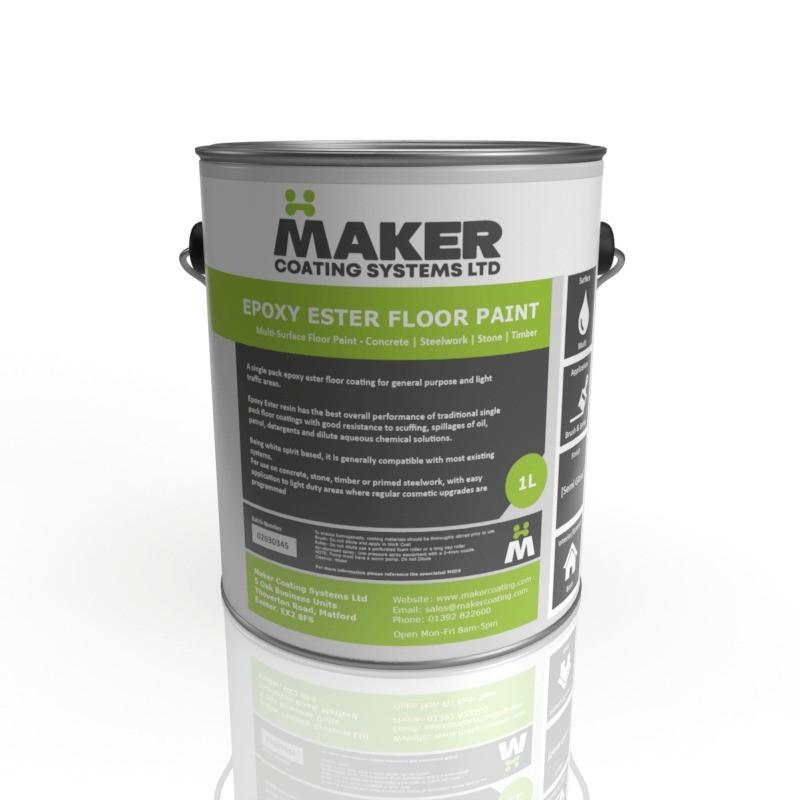 Maker Coating - Epoxy Ester Floor Paint