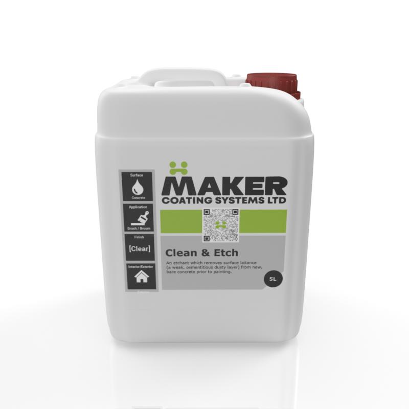 Maker Coating - Clean & Etch