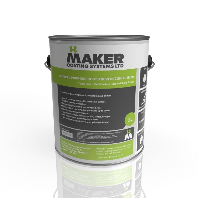 Maker Coating - Multi-Purpose Rust Prevention Primer