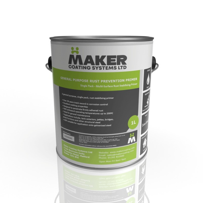 Maker Coating - Industrial Rust Stabilising Primer