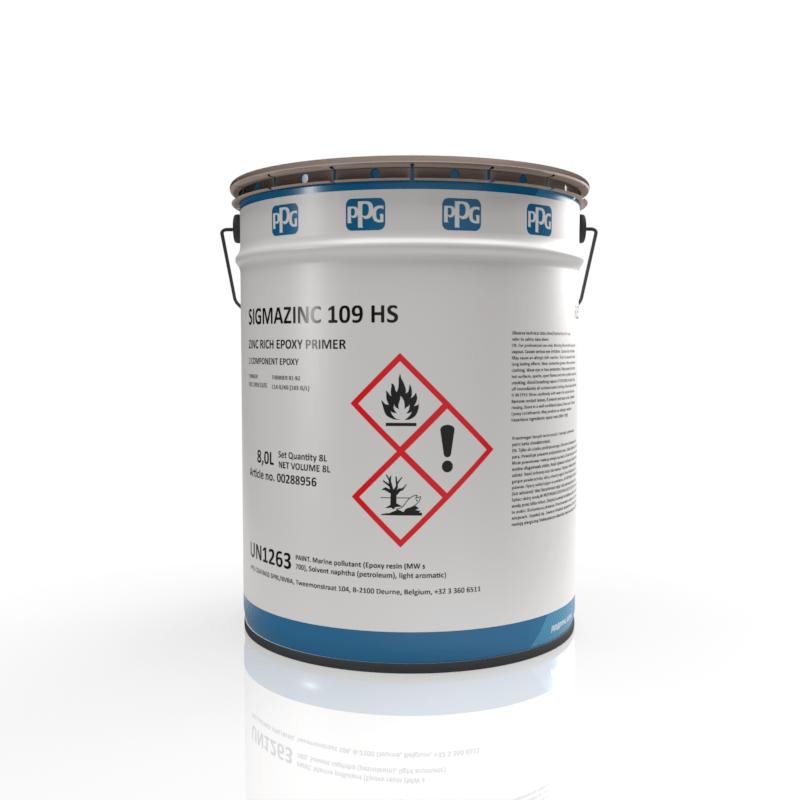 PPG - Sigmazinc 109 HS - Zinc Epoxy Primer
