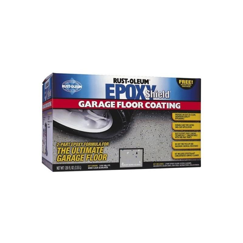 Rustoleum - Epoxyshield: Garage Floor Coating