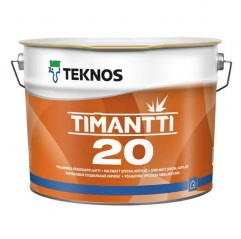 Teknos - Timantti 20 - Water-Borne Acrylate Paint